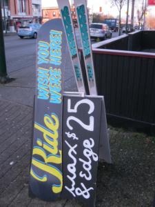 vancouver ski wax and edge